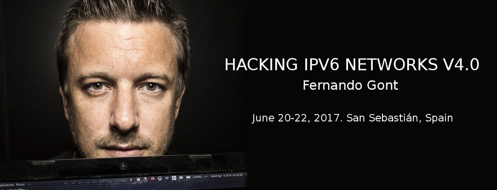 """New edition of our """"Hacking IPv6 Networks v4.0"""" training-course!"""